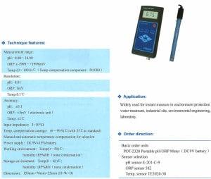 Handheld pH / ORP Meter - Australia