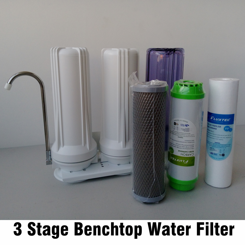 3 Stage Benchtop Counter Top Water Filter Australia