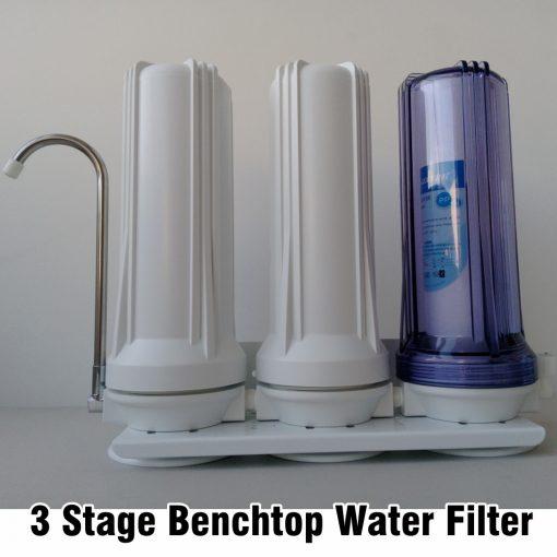 3 Stage Benchtop Water Filter Australia