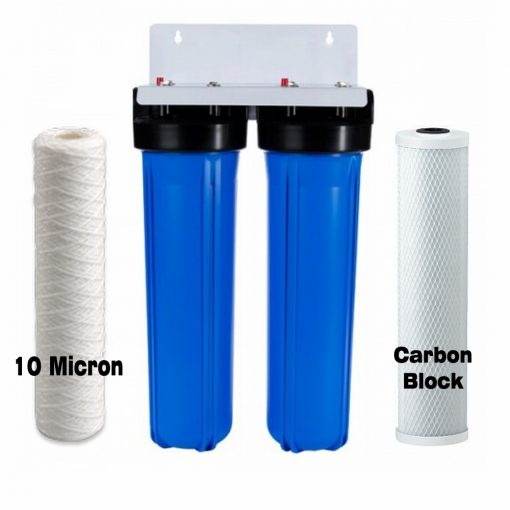 Twin Whole House Big Blue Water Filter System Australia