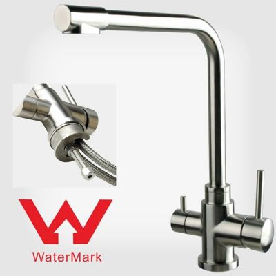 3-way triflow water filter kitchen sink mixer tap Australia