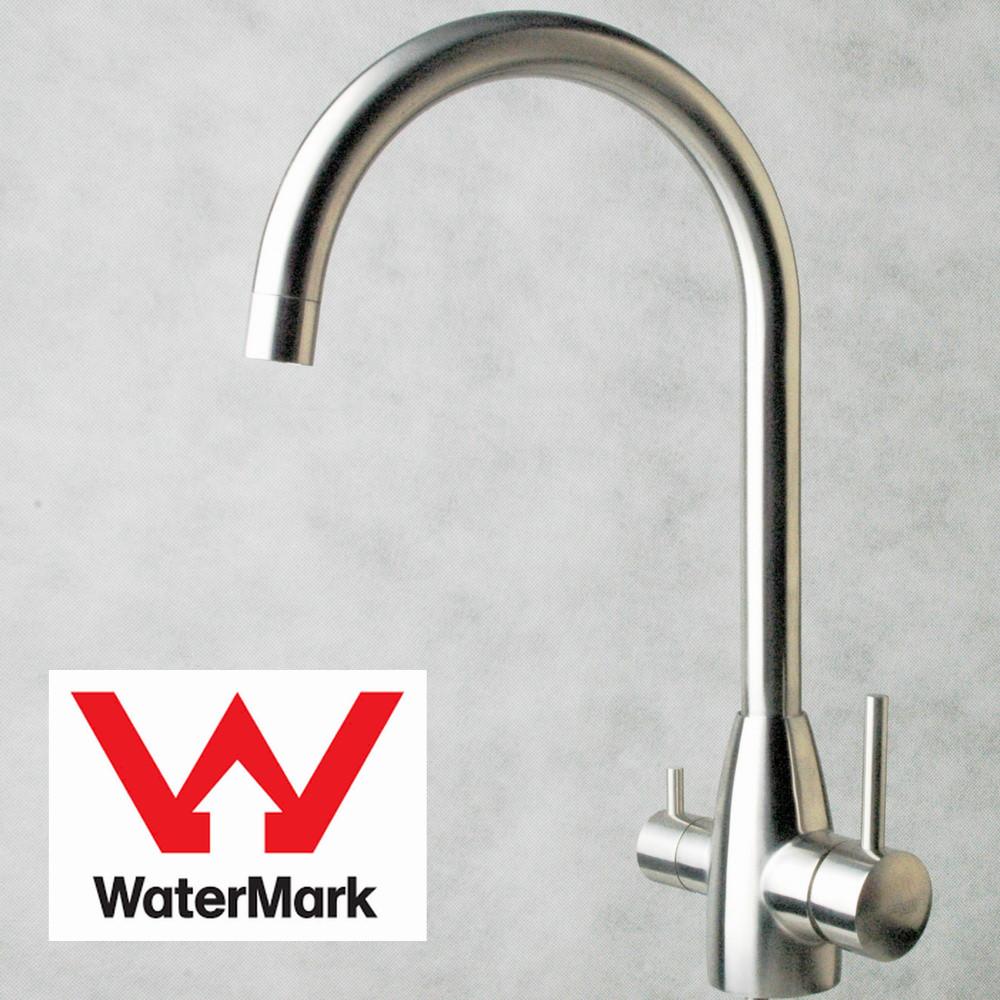 Stainless Steel Kitchen 3 way Kitchen Sink Mixer Tap (Hot Cold Filtered) Australia