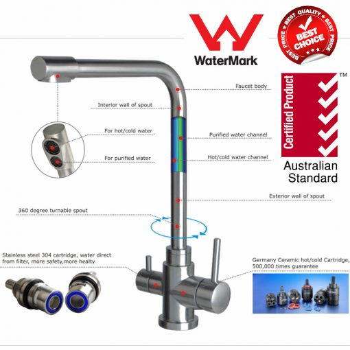 Three Way mixer tap kitchen Australia