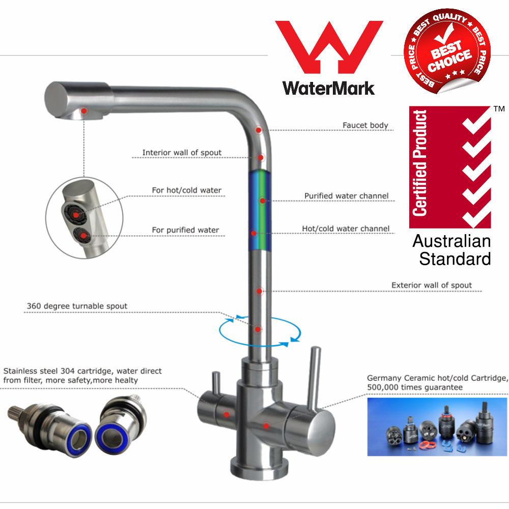 Three Way mixer tap kitchen Australia