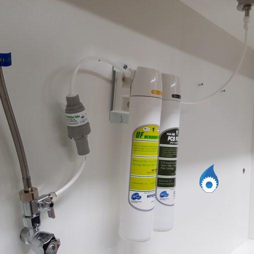 Twin Undersink Hyundai Water Filter
