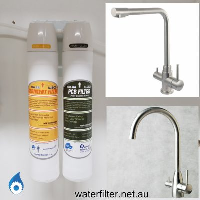 3 Way Mixer Tap Filter Kit Australia