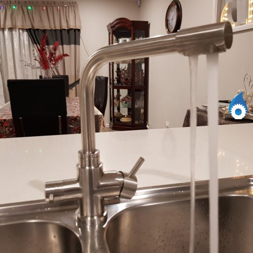 Stylish Stainless Steel 3 Way Mixer Tap