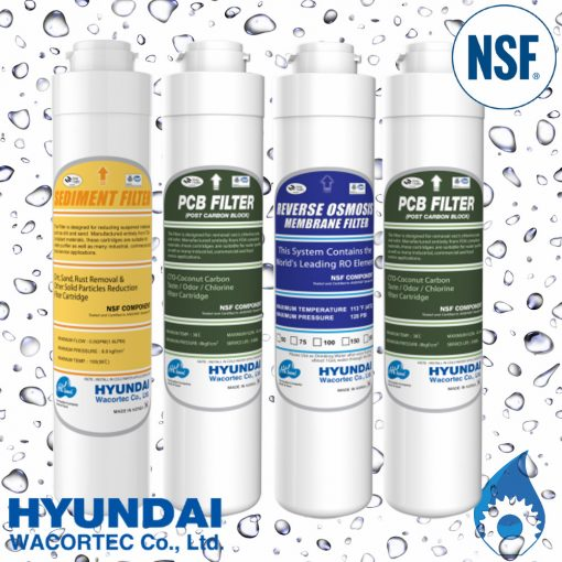 Hyundai Complete RO Water Filter Pack