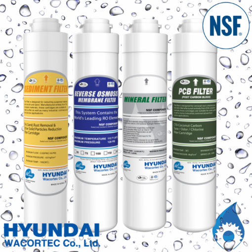 Hyundai RO Water Filter Pack