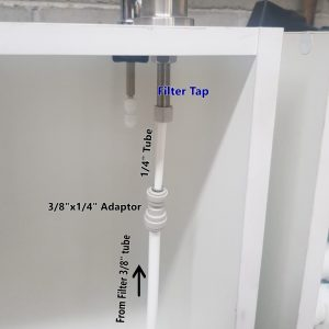 How to Connect Hi Flow Filter with 3 Way Mixer Tap