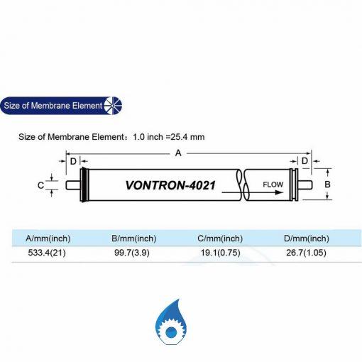 Vontron ULP21-4021 Membrane Rplacement Australia