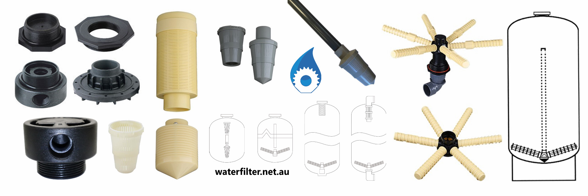 Media Filtration Tank Accessories & Components Australia
