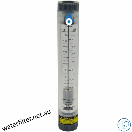 Pipe Type Inline Flow Meter 20GPM