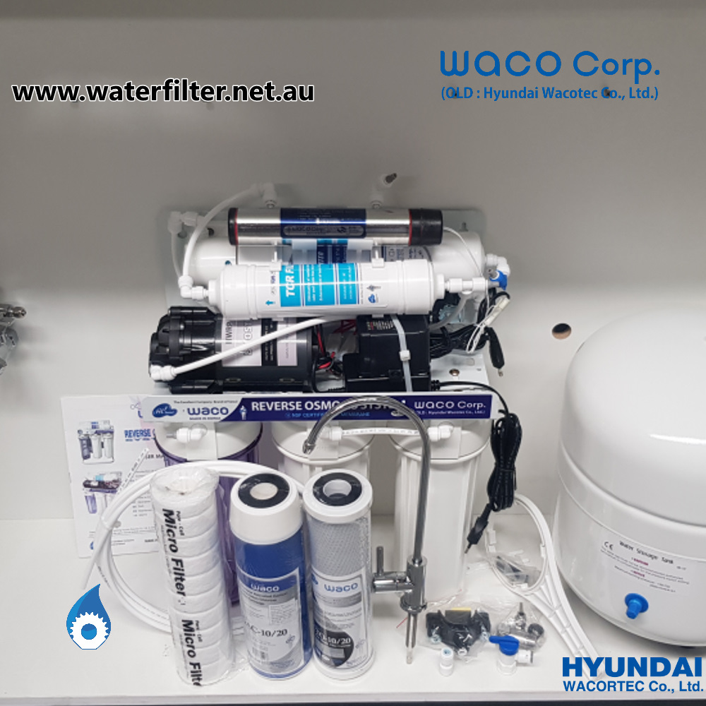Reverse Osmosis Water Filter With UV