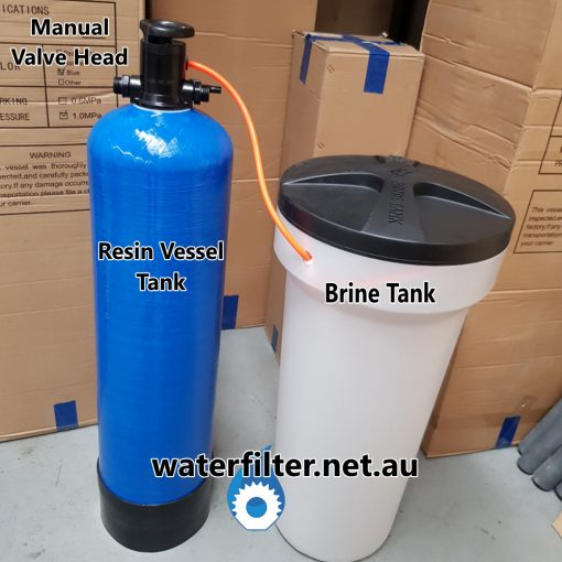 Small Manual Water Softener