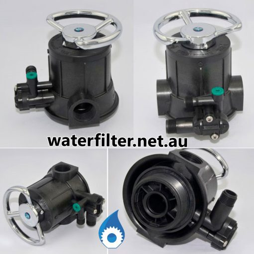 Commercial Manual Water Softener Head Valve Australia