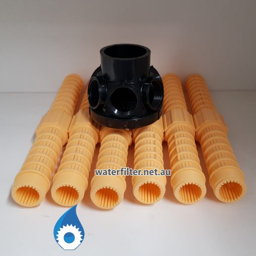 Hubs and Laterals Bottom Distributor For Water Softener Filter Australia