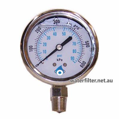 Water Pressure Gauge Australia