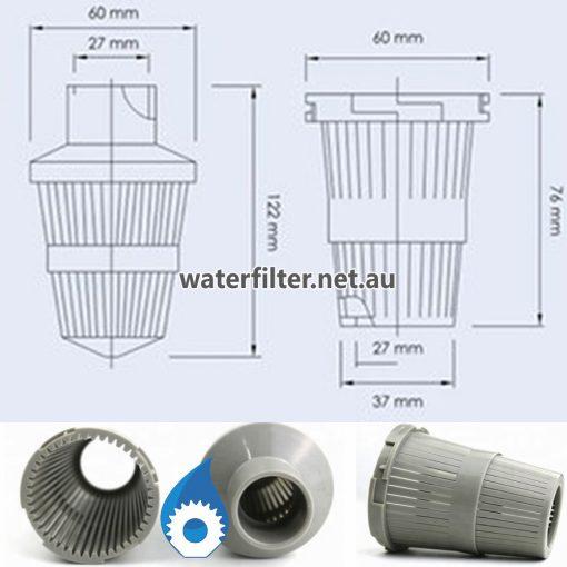 Water Softener Parts - Strainer Baket For Valve Head Australia