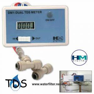 DM-1 HM Digital Inline Dual TDS Monitor