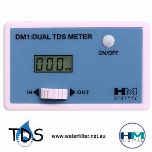 Dual Inline TDS Meter DM-1 HM Digital
