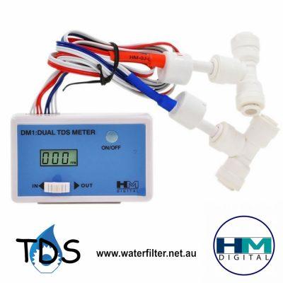Inline Dual TDS Meter HM DM-1