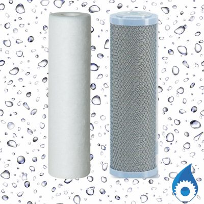 Silver Carbon Water Filter Cartridge